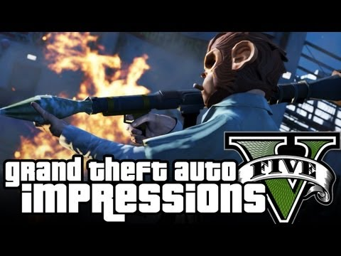 GTA gameplay - GTA V's trailers have been trickling out for a while now, but it wasn't until last week that we got to see the actual game in action. We can't show it to you...