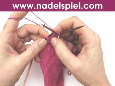 Handschuhe stricken * Teil 5 * Daumen für Handschuhe & Fäustlinge