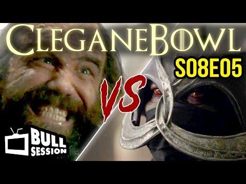 Cleganebowl   Game of Thrones Abridged - S08E05 (Season 8 Episode 5)