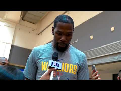 KID REPORTERS WITH KEVIN DURANT