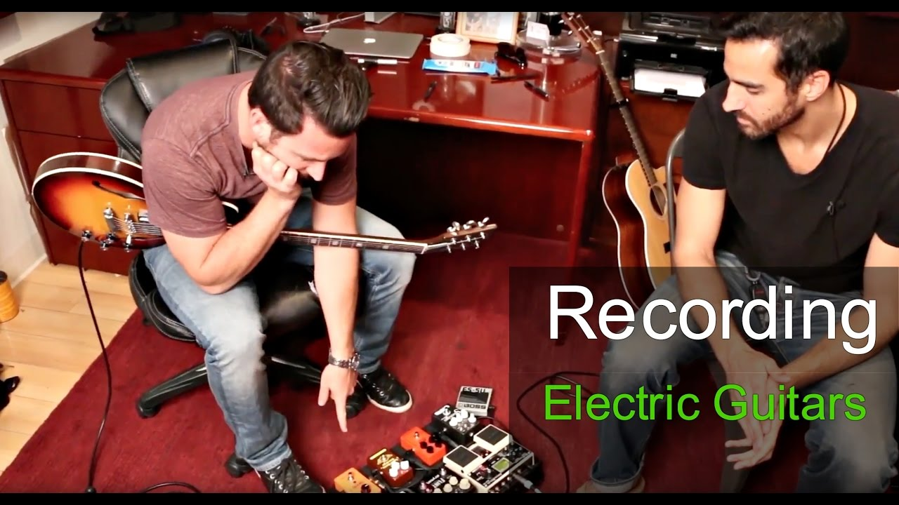 Recording Electric Guitars with Phil Allen – Warren Huart: Produce Like A Pro