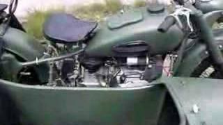 6. Ural K-750 real russian oldtimer motorbike!!!
