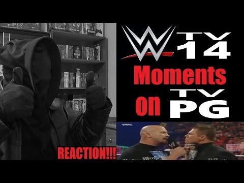WWE TV-14 Moments on TV-PG [Uncensored] REACTION!!! (STD)