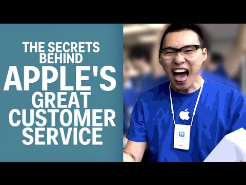 The Secrets Behind Apple's Great Customer Service