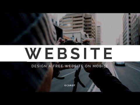 Website  erstellen übers Handy.