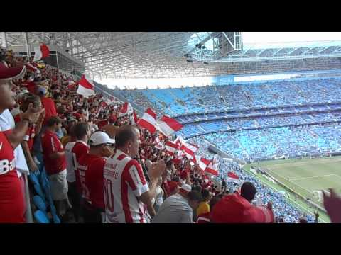 Minha Camisa Vermelha - Grêmio 1x2 INTER - Campeonato Gaúcho 2014 - Guarda Popular do Inter - Internacional