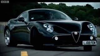 Alfa Romeo 8C - Top Gear - BBC