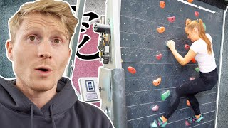 Normal Girlfriend tries not so Normal Climbing Wall in Tokyo - Will she love it? /// Vlog part 2 by Magnus Midtbø