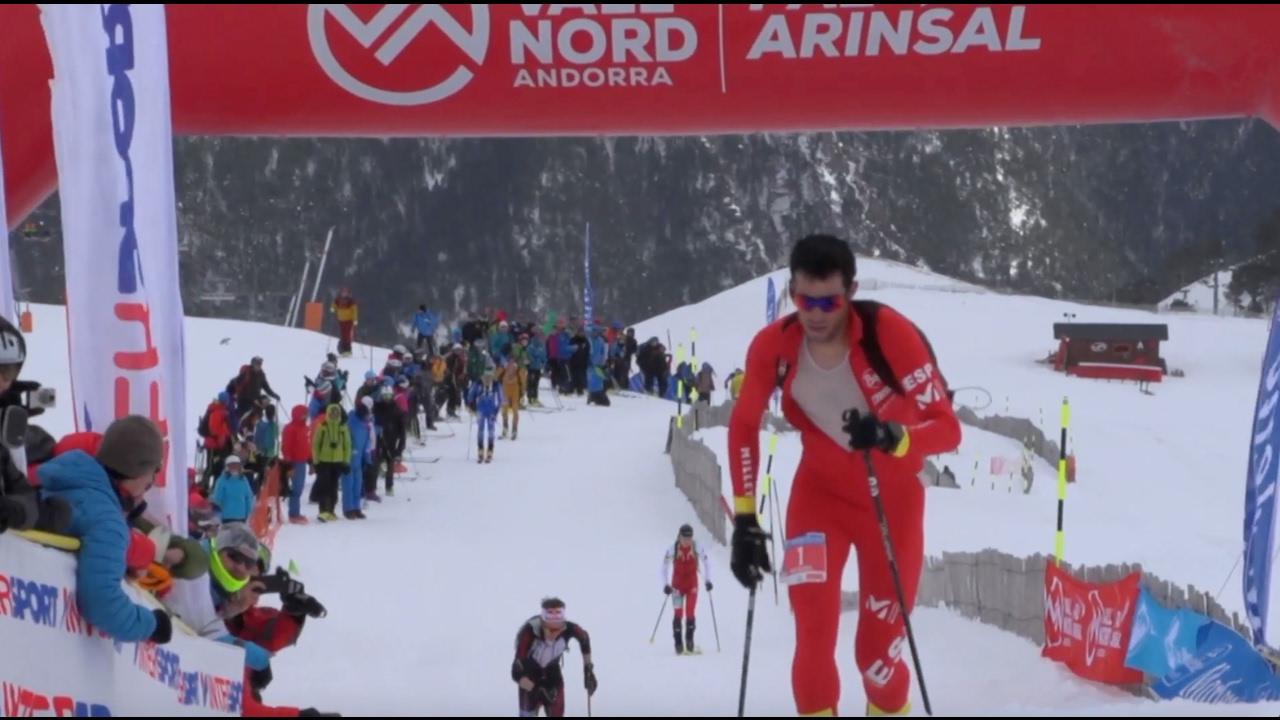 EVASIÓN TV: Copa del Mundo de Esquí de Montaña - Fontblanca 2017