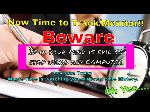 ManicTime Tutorial | Track Computer Usage | ManicTime Download | Software Categories YouTube