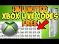How to Get Unlimited Free Xbox Live Codes (Updated August  2018) Latest Method!