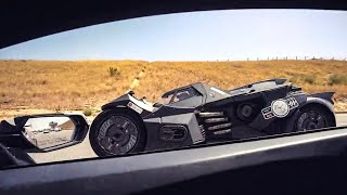 HOW TO EMBARRASS SUPERCAR OWNERS, BRING A BATMOBILE!!