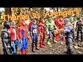 Download Lagu Thanos vs Avengers + Spiderman - Hulk, Thor, Black Panther, Iron Man Full Fight! Mp3 Free