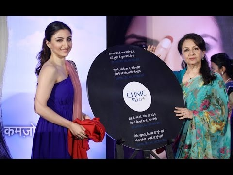 Soha Ali Khan And Sharmila Tagore Celebrates Mothers Day With Clinic Plus