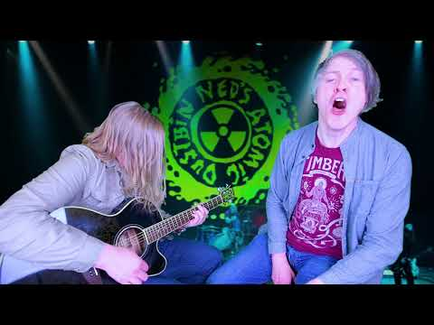 Ned39s Atomic Dustbin perform Grey Cell Green acoustic version