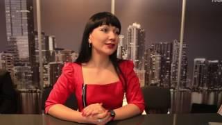 Интервью Анны Коваль на выставке международной недвижимости