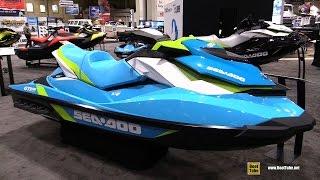 8. 2016 Sea Doo GTI 130 Jet Ski - Walkaround - 2016 Toronto Boat Show