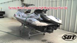 10. SBT Tech Tip - Flushing your Yamaha WaveRunner