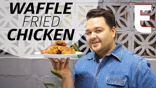 How To Turn Leftover Waffles Into the Perfect Fried Chicken — You Can Do This! by Eater