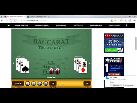Chipart - Baccarat Chi part two of MANY