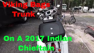 10. 2017 Indian Chieftain  Trunk Alternative - Indian Motorcycles