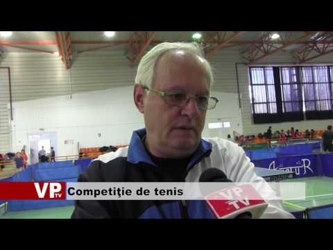 Competiţie de tenis