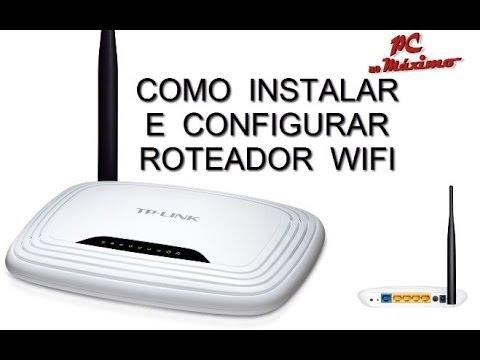 Wifi - Aprenda ligar os cabos do roteador, e configurar senha para o wifi. Modelo usado no tutorial TP-Link, mas serve como base para todos roteadores.