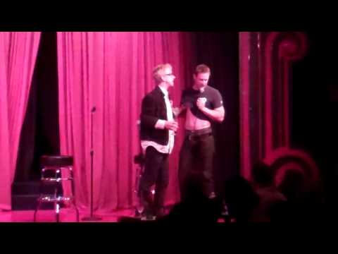 A very DRUNK Andy Dick sexually harasses Australian Comedian Monty Franklin