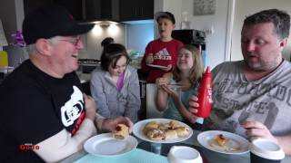 """Local bakery offerings can often be very tasty, check out what the GoJo Kids Luke and me found out about them in this review.Pie & Mighty: https://www.facebook.com/Pie-and-Mighty-Pakenham-VIC-192938164068565/Please Share :)#tastetest #foodieNEW VIDEOS EACH WEEKSend Me Stuff To Test!CHECKOUT THE FOODIE PLAYLISTS:*McDonalds*https://www.youtube.com/playlist?list=PLxEcELMekIpsoVC-YetHuUhOUGJ93wCna*KFC*https://www.youtube.com/playlist?list=PLxEcELMekIpu4KvJh69z76KLxNtHLtrHP*Subway, Nando's, Pizza Hut, Domino's, Krispy Kreme etc*https://www.youtube.com/playlist?list=PL1D51F1A60B60C47B*Hungry Jacks / Burger King*https://www.youtube.com/playlist?list=PLxEcELMekIpth-xtoD0HPRjjyfrv_b7BA*McDonald's Vs KFC Vs Hungry Jacks Vs ???*https://www.youtube.com/playlist?list=PLxEcELMekIpu5gbZZY19dXprd-QBHH2UF*Cadbury, Vegemite, Arnott's*https://www.youtube.com/playlist?list=PLxEcELMekIpvjIHm8dPhURTL1EgWBmVXi*Pub Meals*https://www.youtube.com/playlist?list=PLxEcELMekIptpuU_iUA6k1ojYkZExzHSd*Food Fun & Challenges*https://www.youtube.com/playlist?list=PLxEcELMekIpsbhbCX4Sq7GovKCZmAYebqGOJOMEDIA LINKSGoJo MediaPO Box 411Cockatoo 3781AustraliaSNAPCHAT: gojogeoffINSTAGRAM: http://instagram.com/gojomediaFACEBOOK: https://www.facebook.com/GoJoMediaVINE: https://vine.co/GoJo.GeoffTWITTER: https://twitter.com/GoJoMediaGOOGLE+: https://plus.google.com/u/0/+GoJoMediaGeoffMERCH: http://gojomedia.spreadshirt.com/ZOMATO: zomato.com/gojogeoffMORE GOJOMEDIA CHANNELS*Main Channel*https://www.youtube.com/user/GeoffJennyOliver*Vlogs* https://www.youtube.com/channel/UC3TH5l0Q9Lky1RnR9xMkIXg*Kids*https://www.youtube.com/channel/UCLSB7Ge8_sb_oEEUZy-55LwMUSICYou Tube audio library: Bonanza (Sting)Apple Loops:http://images.apple.com/legal/sla/docs/ilife09.pdf""""You may use the Apple and third party audio content (""""Audio Content"""") contained in or otherwise included with the Apple software, on a royalty-free basis, to create your own original soundtracks for your video and audio projects. You may broadcast and/or d"""