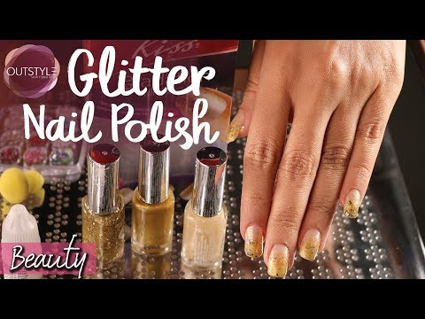Exciting Nail Polish Glitters  Kiss Gradation  Nail Art Review By Nadia Khan  Outstyle.com