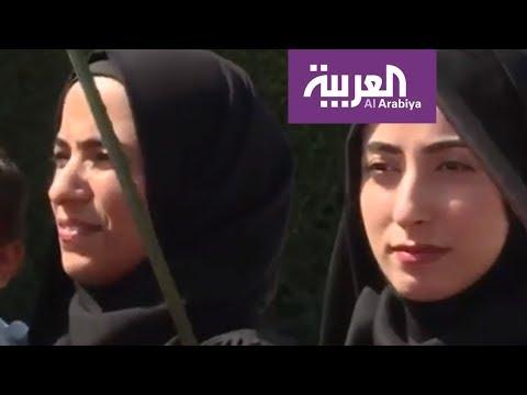 العرب اليوم - بالفيديو: تظاهرات أحوازيون في الشوارع