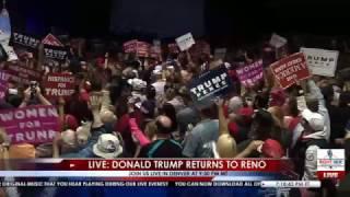 Saturday, November 5, 2016: Live stream coverage of the Donald J. Trump for President rally in Reno, NV at the Reno-Sparks...
