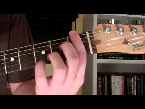 How To Play the Fm7 Chord On Guitar (F minor seventh) 7th