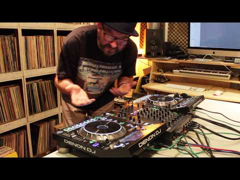 Denon Sc5000 Dual Layer Djing With Effects Demo - Chad Jackson