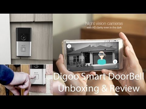 Digoo SB-XYZ - Smart Video Doorbell - unboxing an review