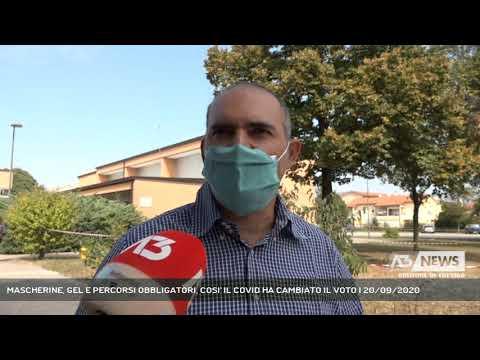 MASCHERINE, GEL E PERCORSI OBBLIGATORI, COSI' IL COVID HA CAMBIATO IL VOTO | 20/09/2020