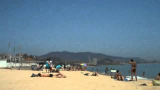 Badalona Spain  city photo : A scene from Badalona beach, Spain
