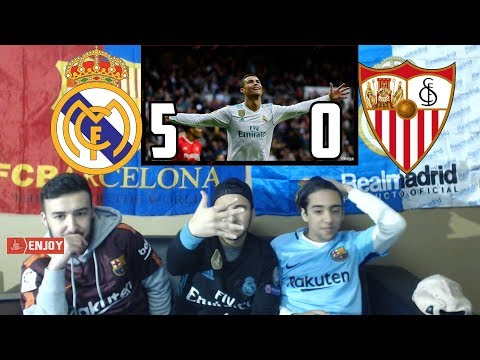 REAL MADRID SHOW - EASY 5-0 WIN OVER SEVILLA - REACTION