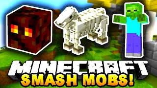 Minecraft SMASH MOBS #1 w/PrestonPlayz, Kenny, PeteZahHutt&Tyler