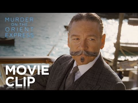 "Asesinato en el Orient Express - ""I Know Your Moustache"" Clip?>"
