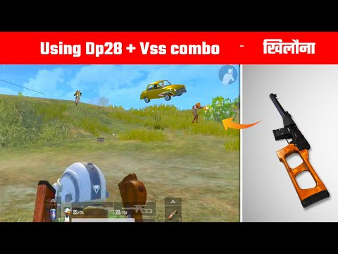 Dp28 + Vss combo destroyed the Whole server in this Game | Pubg lite Gameplay By - Gamo Boy