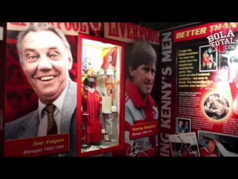 Bolatotal Goes To The Premiere League : Liverpool Tour Museum And Megastore Part 2