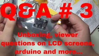 Contribute to the channel:https://www.patreon.com/EE_Enthusiast I'm answering some more of your questions in this episode. We talk about the LCD menu tutorial I made now too long ago, installing libraries on Arduino and more. At the end, I'm unboxing a few more electronics products. I'm also unboxing some of the items I purchased on eBay, Amazon and other websites. They will be used in the following tutorials. Get in touch:Facebook: https://www.facebook.com/EEEnthusiastTwitter: https://twitter.com/EE_EnthusiastWebsite: http://eeenthusiast.comGitHub: https://github.com/VRomanov89Personal website: http://vladromanov.com Relevant Search Terms:EEEnthusiast, Vlad Romanov, Volodymyr Romanov, arduino, programming, unboxing, tutorial, q&a, question & answer, electronics, engineering, diy, hobbyist, mailbag, monday, led driver, sharp sensor, ir sensor, distance, arduino tutorial, ebay, aliexpress, amazon, purchase, buy electronics