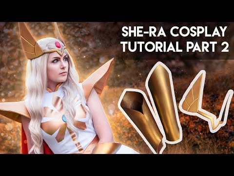 She-Ra Cosplay Tutorial Part 2 : Armor and Boot Covers