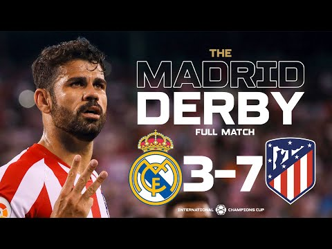 Real Madrid 3-7 Atlético Madrid - Madrid Derby 2019 Full Match | ICC2019