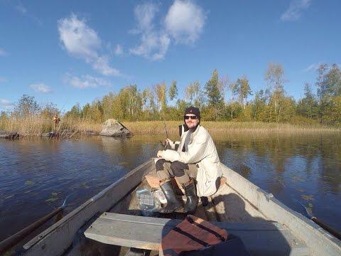 рыбалка на озере вуокса в синево