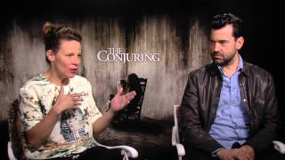 The Conjuring - Exclusive International Online Open End Interviews 'Lili Taylor&Ron Livingston'
