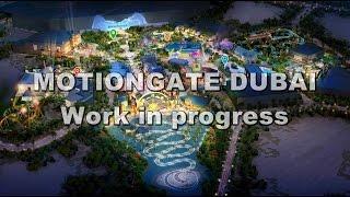 Behind the scene @ Motiongate Dubai, new theme park october 2016 --- Parksmania.it il primo portale italiano dedicato ai parchi divertimento. www.parksmania....