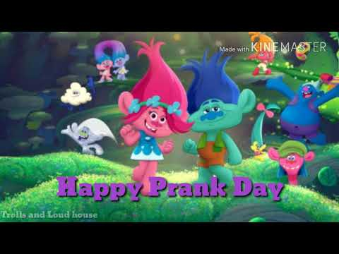 Happy Prank Day  Trolls The Beat Goes On Soundtrack