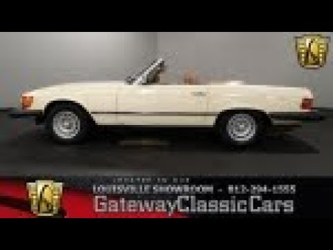 1981 Mercedes-Benz 380SL - Louisville - Stock #1745